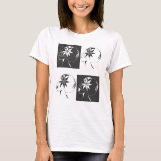 Faces of Me Womens Babydoll T-shirt