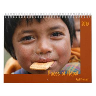 Faces of Nepal Wall Calendars