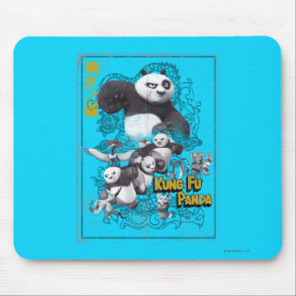 Faces of Po Mouse Pad