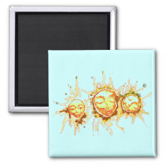 Faces of the Sun Magnet