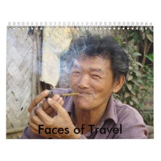 Faces of Travel Calendar