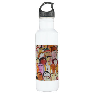 Faces Stainless Steel Water Bottle