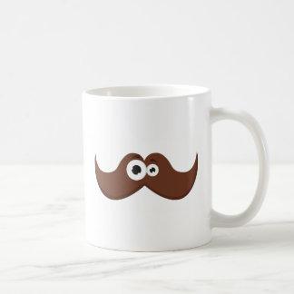 Facetache - The moustache with a face Coffee Mug