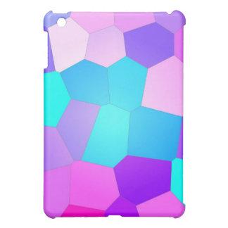 Facetas abstractas del rosa, púrpuras y azules