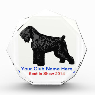 Faceted Dog Show Award