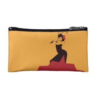 Faceted Flamenco Makeup Bag