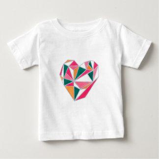 Faceted heart.jpg baby T-Shirt
