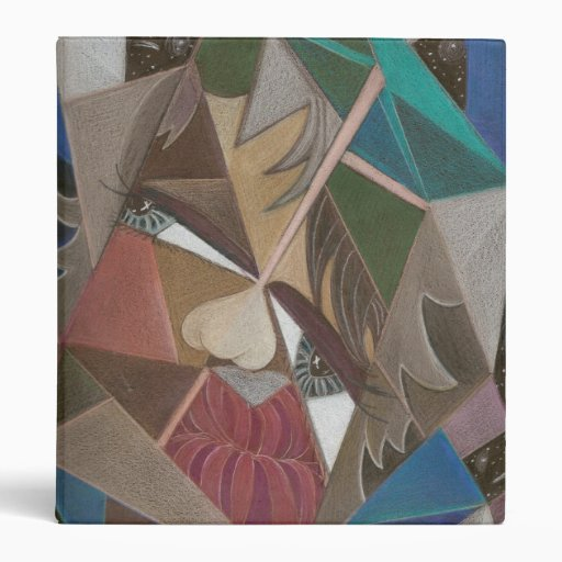 'Faceted in Space' binder
