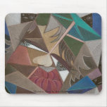 'Faceted in Space' mousepad