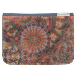 Faceted Wheels Colorful Kindle Folio Case