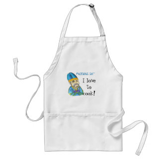 Facetious Say Adult Apron