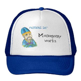Facetious-say Mesh Hat