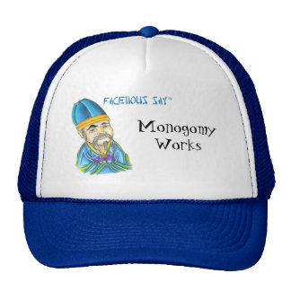 Facetious Say Trucker Hat