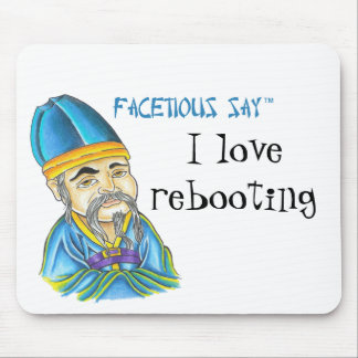 Facetious-say Mouse Pad
