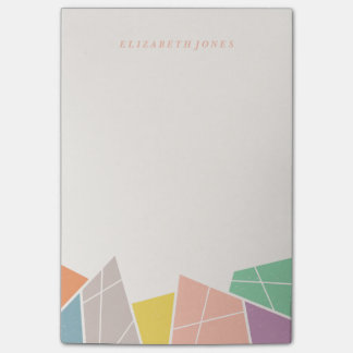 Facets (Large) - Apricot Post-it® Notes