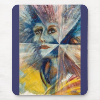 Facets Mouse Pad