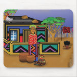 Facets of Africa Mouse Pad