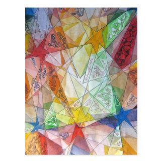 Facets Post Card