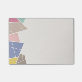 Facets (Small) - Cornflower Post-it® Notes