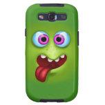 FaceZ - monstruo verde Bob Samsung Galaxy S3 Protectores