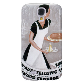 Fach Ausstellung Vintage Food Ad Art Galaxy S4 Cover