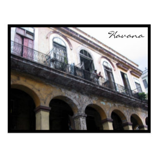 fachada casera de La Habana Tarjetas Postales