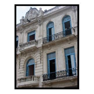 fachada de La Habana Tarjeta Postal