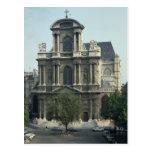 Fachada de la iglesia de Santo-Gervais Postales