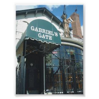 Fachada de la puerta de Gabriel en el búfalo Nueva Fotografía