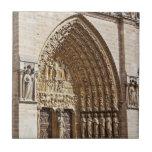 Fachada de Notre Dame Azulejo Cerámica