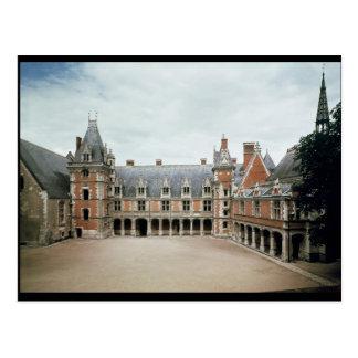 Fachada del ala de Louis XII, 1498-1503 Postal