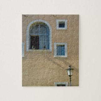 Fachada del edificio en Roma, Italia Puzzles