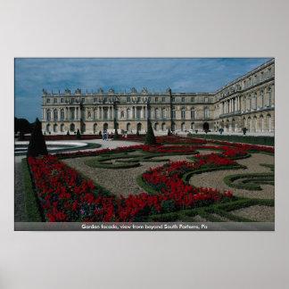 Fachada del jardín, visión desde más allá del Part Posters