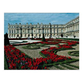 Fachada del jardín, visión desde más allá del tarjeta postal