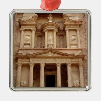 Fachada del Khazneh Firaoun Ornamento De Navidad