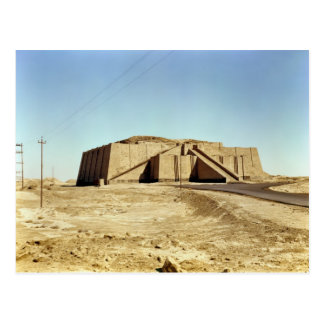 Fachada del noreste del ziggurat, c.2100 A.C. Postal