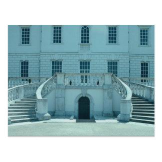 Fachada del norte la casa de la reina Greenwich Tarjeta Postal