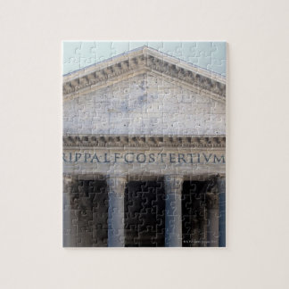 Fachada del panteón en Roma, Italia Rompecabezas Con Fotos