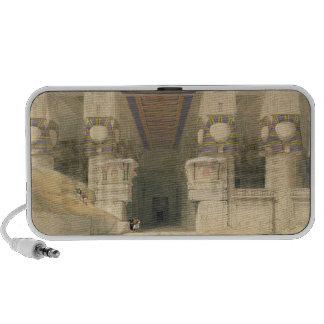Fachada del templo de Hathor Altavoz De Viaje