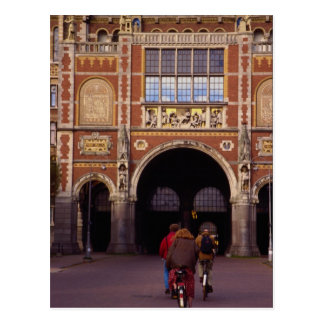 Fachada delantera del Rijksmuseum neogótico, Amste Postales