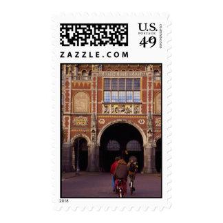 Fachada delantera del Rijksmuseum neogótico, Sello