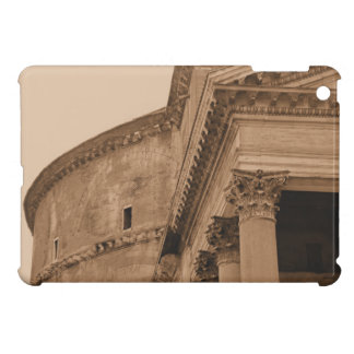 Fachada romana antigua Roma Italia del panteón iPad Mini Coberturas