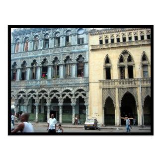 fachadas de La Habana Tarjetas Postales
