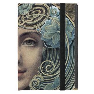 Fächer auf goldenem Grund by Louis Welden Hawkins iPad Mini Case