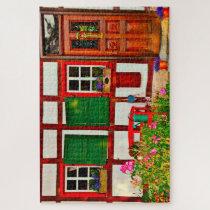 Fachwerkhaus House Germany. Jigsaw Puzzle