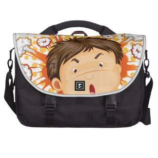 Facial expression commuter bags