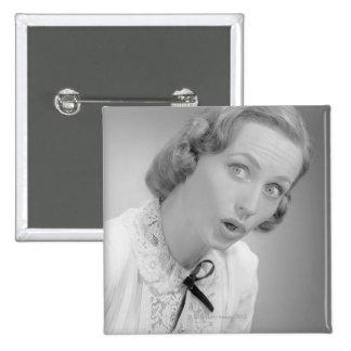 Facial Expressions Pinback Button