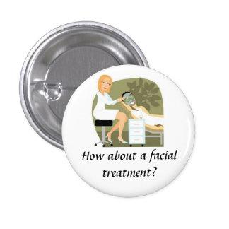 Facial Treatment Button