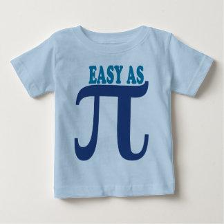 Fácil como pi camisas