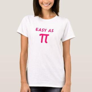 Fácil como pi playera